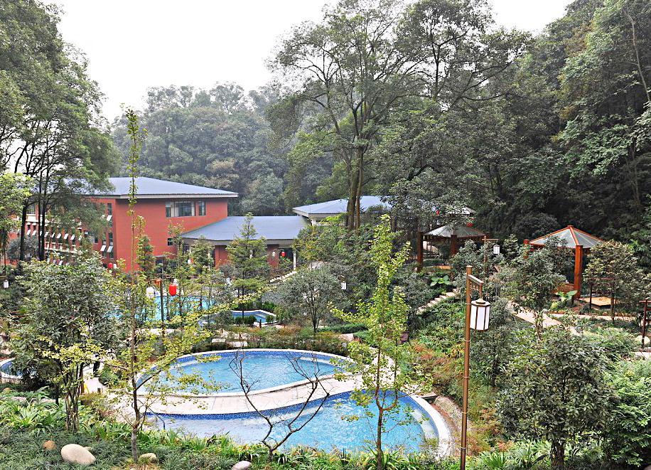 峨眉山高品质氡温泉浴场―观岭森林温泉酒店